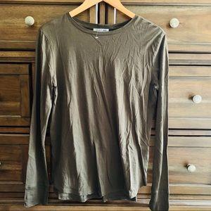 NWT Helmut Lang Thumb Hole Cashmere T-Shirt